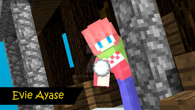 Evie [Minecraft Skin] ~Snowball Fight!~ by alysho10
