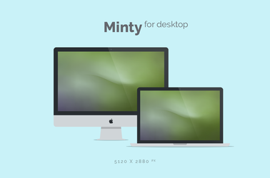 Minty Wallpaper 5120x2880px by dpcdpc11