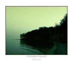 At the edge of the world II by raun
