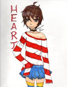 My fan drawing of Heart by Centrie