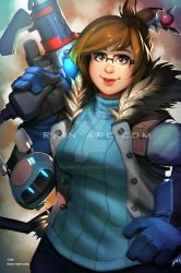 Mei from Overwatch by LorBot