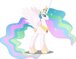Vector #403 - Princess Celestia #3 by DashieSparkle