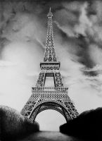 Eiffel Tower by zetcom
