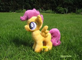 Fanmade Scootaloo Plushie by HipsterOwlet