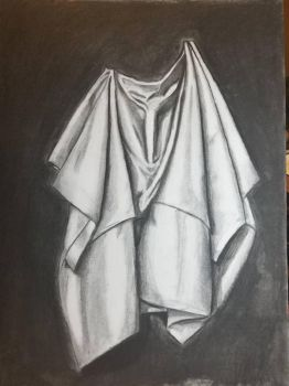 Playing with Charcoal  by CatrionaLeo