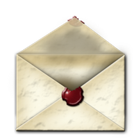 Steampunk Email Open Envelope Icon MkII by yereverluvinuncleber
