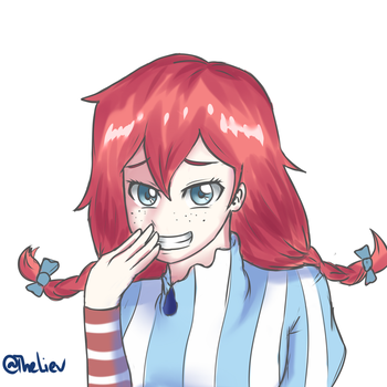 Smug Wendy by TheLiev