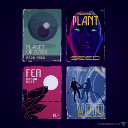 Vintage Sci Fi Covers by Valenberg