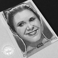 A New Hope: Leia 2 by BikerScout