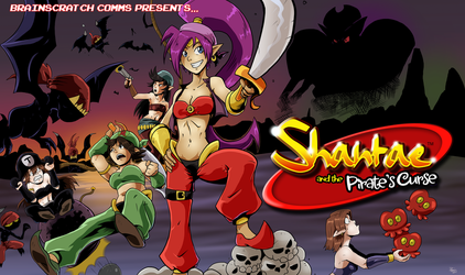 BSC - Shantae and the Pirate's Curse by chickenMASK