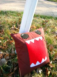 Domo Pillow by shenanigancrafts