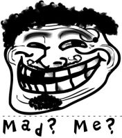 Rough Troll Face... by Wezza-T