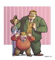 Dursley family by CROMOU