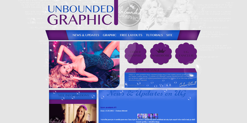 layout at unbounded-graphic.blog.cz by ChelseaMitchell