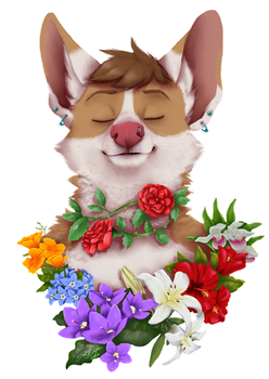 I'm Blooming by Wolf-Shadow77