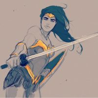 Diana of the Themyscira by samanthadoodles