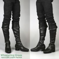 BJD high riding boots by scargeear