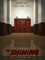 The Shining alternative movie poster by m7