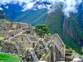 Machu Picchu the remains ... by JaneR5019