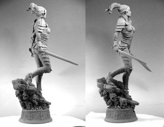 'Shard' Court of the Dead. Sideshow Collectibles by MarkNewman