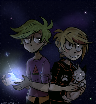 Stars! by whalehappinessssai
