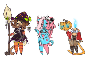 Spoopy Adopts - 0/3 (closed!) by enoshlma
