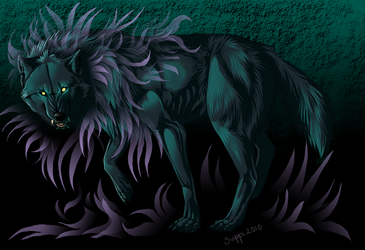The dog from hell... maybe? by Sir-Sirppi