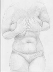 Front Sketch by richterfineart