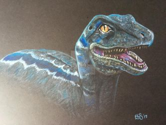 Blue - Jurassic World by BlossomBrooks