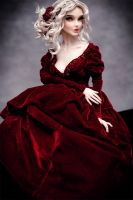 Magdalena in the Concubine's Gown Set by amadiz