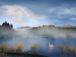 Morning Mist by Sillybilly60