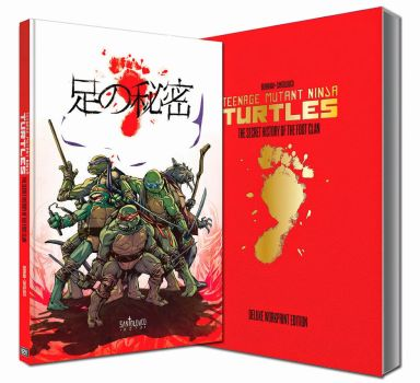 TMNT - Secret History of the Foot - Deluxe Edition by Santolouco