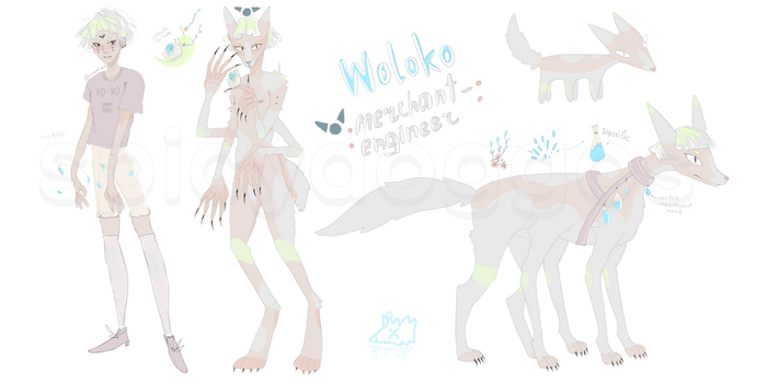 (cs) Woloko #2| auction adopt [closed] by spicydoggos