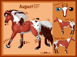 August - Reference Sheet by Sandy--Apples