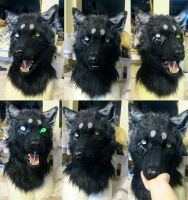 Abigail wolf mask by Crystumes