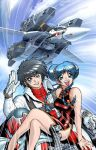 ROBOTECH pin-up fo' Wildstorm by AdamWarren