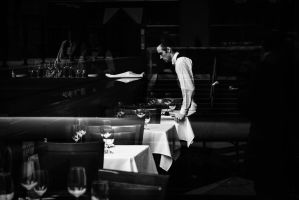 Waiter by IrynaFedorovska