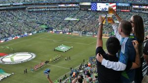 3 cheers for sounders by MeGreedy