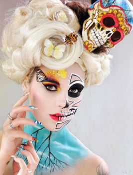 Illamasqua surrealism Competition entry 2012 by Ryo-Says-Meow