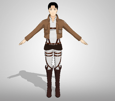 Marco Bodt - Attack on Titan - MMD Newcomer DL by narutoxbase