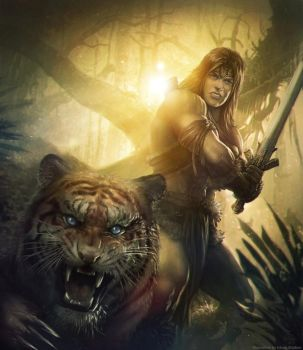 The Barbarian by Straban
