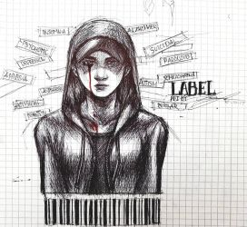 Suicide Thought - Label by SwedenLena