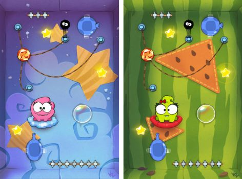 Cut The Rope test task for Zeptolab by Beffana