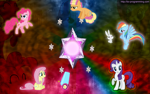 'Magical Mystery Cure' Swapped Marks Wallpaper by BC-Programming