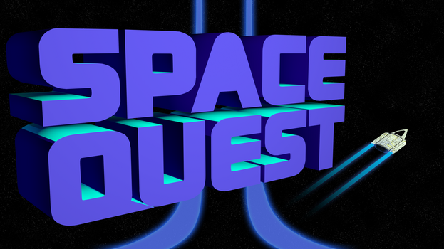 Space Quest 2 4k (Ship/Trails/II Streaks) by MusicallyInspired