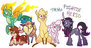 Thems Fightin Herds by CNat