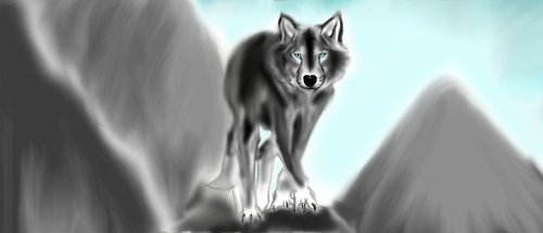 ANOTHER WOLF XD by Ghostz123