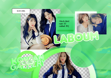 LABOUM | PACK PNG 2 by KoreanGallery