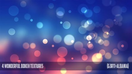 4 Wonderful Bokeh Textures {G3RTI-ALBANIA} by G3RTI-ALBANIA