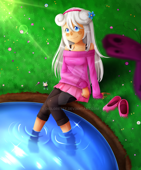 FLUFFY - ART TRADE WITH EMILINKIE by DioLorette